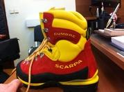 Scarpa cumbre горные ботинки